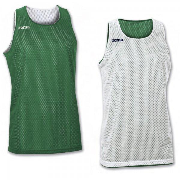 Майка баскетбольная реверсивная ARO GREEN-WHITE