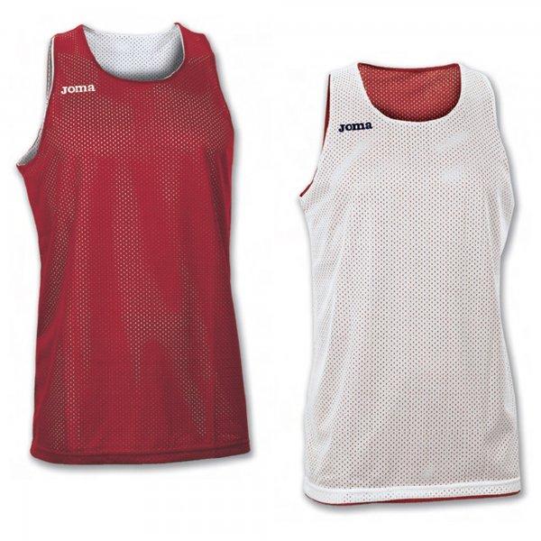 Майка баскетбольная реверсивная ARO RED-WHITE