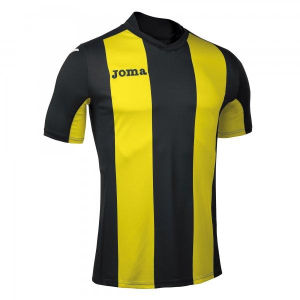 Футболка PISA V  BLACK-YELLOW