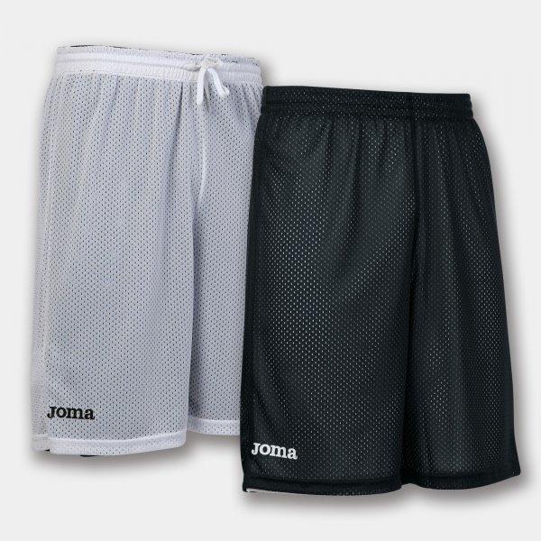 Шорты баскетбольные реверсивные ROOKIE BLACK-WHITE