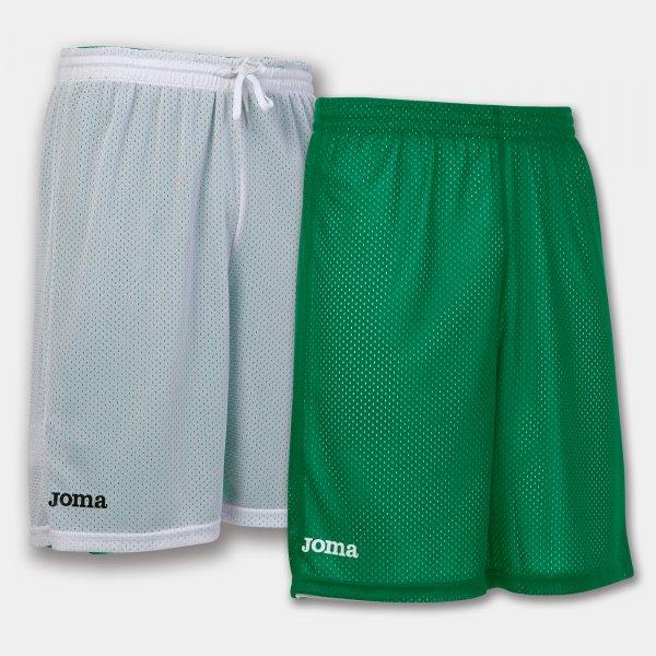 Шорты баскетбольные реверсивные ROOKIE GREEN-WHITE