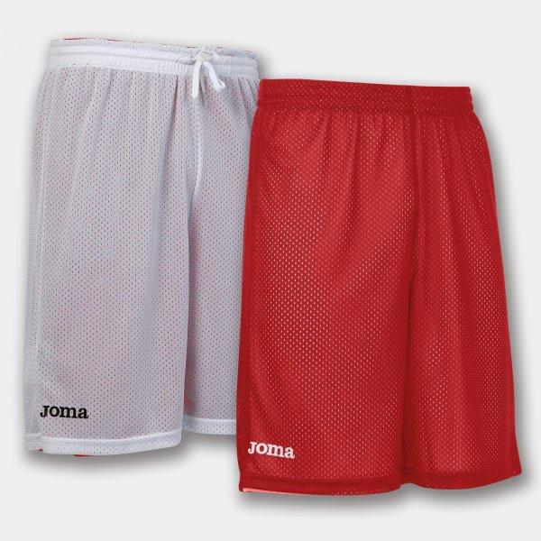 Шорты баскетбольные реверсивные ROOKIE RED-WHITE