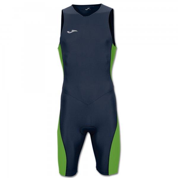 Боди для триатлона NAVY-FLUOR GREEN