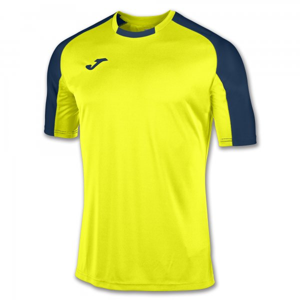 Футболка ESSENTIAL FLUORESCENT YELLOW-NAVY BLUE