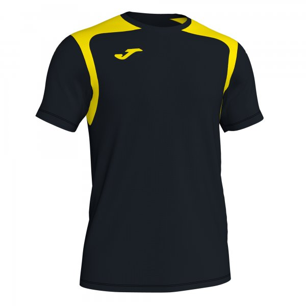 Футболка T-SHIRT CHAMPIONSHIP V BLACK-YELLOW S/S
