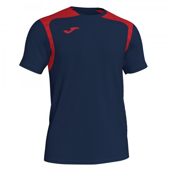 Футболка T-SHIRT CHAMPIONSHIP V DARK NAVY-RED S/S