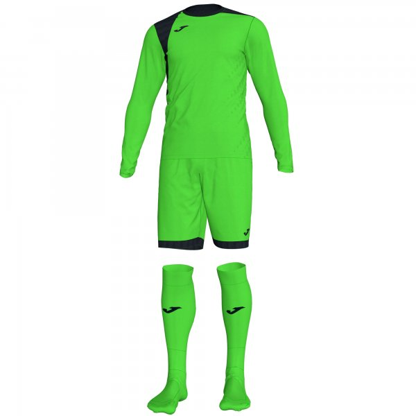 Комплект вратарский ZAMORA IV GOALKEEPER SET FLUOR GREEN L/S