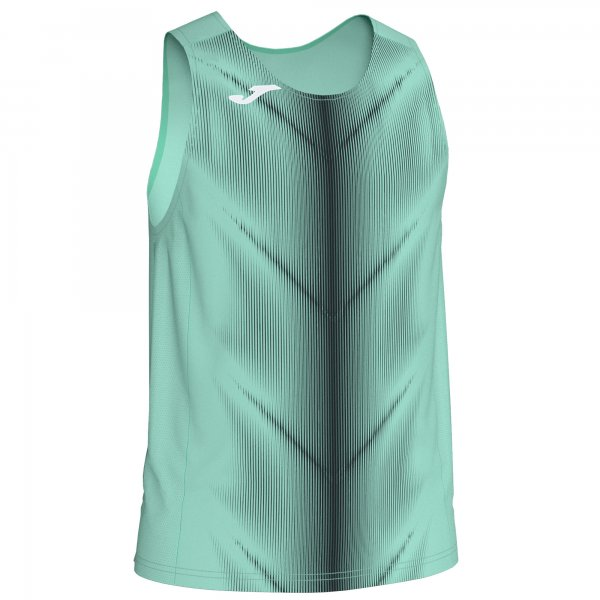 Майка легкоатлетическая OLIMPIA T-SHIRT GREEN-BLACK SLEEVELESS