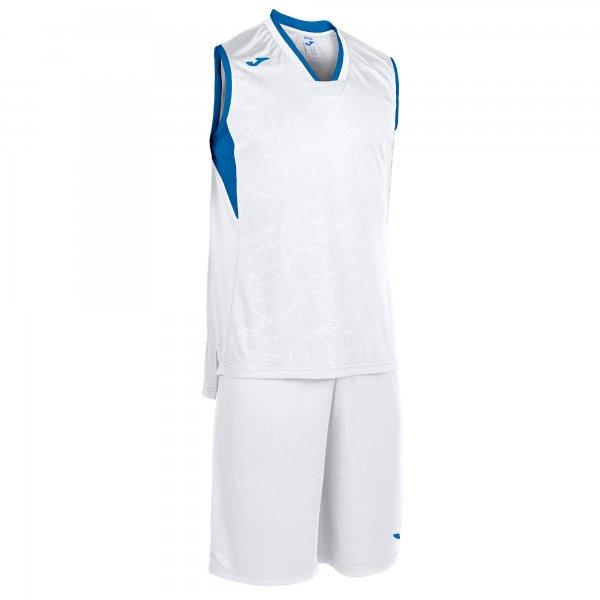 Комплект баскетбольный CAMPUS SET BASKET WHITE-ROYAL SLEEVELES