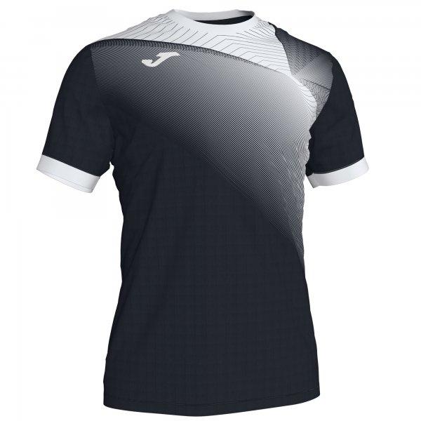 Гандбольная игровая футболка HISPA II T-SHIRT BLACK-WHITE S/S