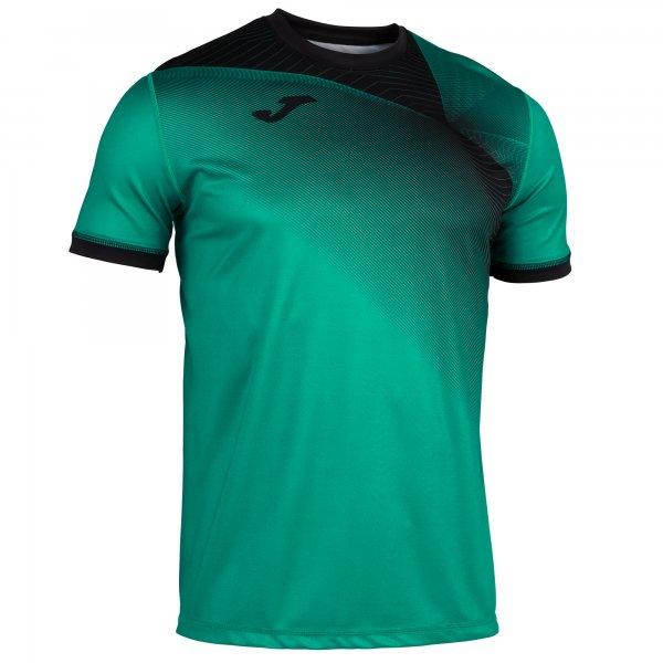 Гандбольная игровая футболка HISPA II T-SHIRT GREEN-BLACK S/S
