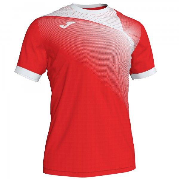 Гандбольная игровая футболка HISPA II T-SHIRT RED-WHITE S/S