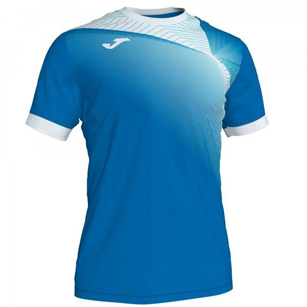 Гандбольная игровая футболка HISPA II T-SHIRT ROYAL-WHITE S/S