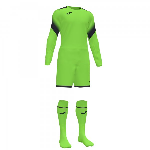 Комплект вратарский ZAMORA V GOALKEEPER SET FLUOR GREEN L/S