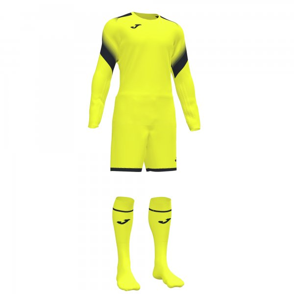Комплект вратарский ZAMORA V GOALKEEPER SET FLUOR YELLOW L/S