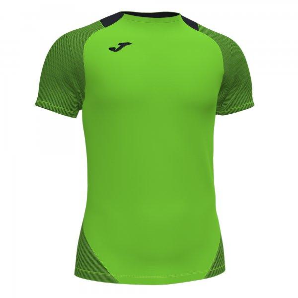 Футболка ESSENTIAL II T-SHIRT FLUOR GREEN-BLACK S/S