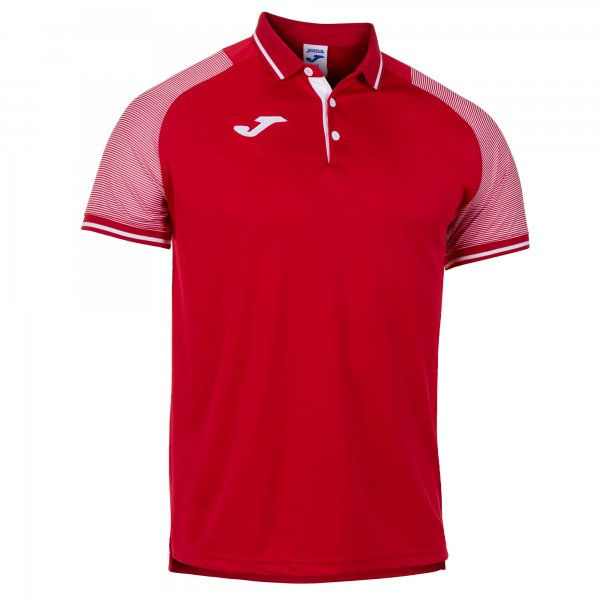 Поло ESSENTIAL II POLO RED-WHITE S/S