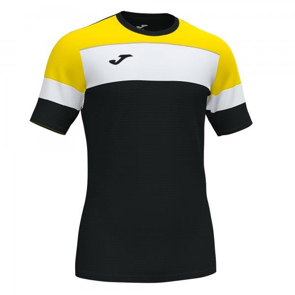 Футболка CREW IV T-SHIRT BLACK-YELLOW S/S