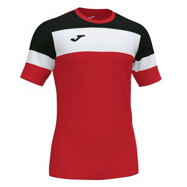 Футболка CREW IV T-SHIRT RED-BLACK S/S
