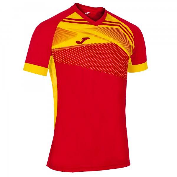 Футболка SUPERNOVA II T-SHIRT RED-YELLOW S/S