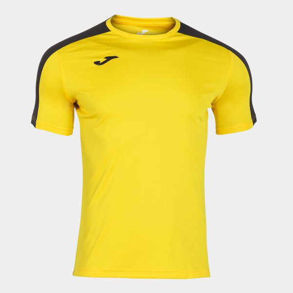 Футболка ACADEMY T-SHIRT YELLOW-BLACK S/S