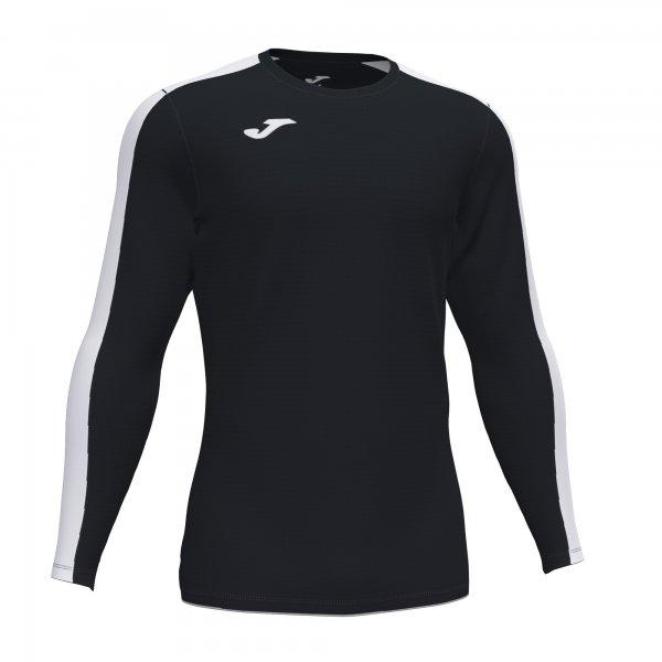 Футболка ACADEMY T-SHIRT BLACK-WHITE L/S