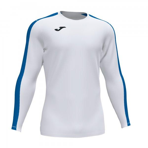 Футболка ACADEMY T-SHIRT WHITE-ROYAL L/S