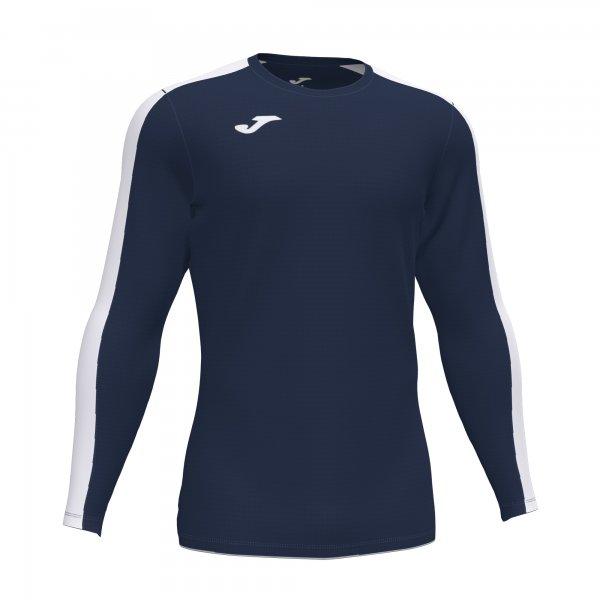 Футболка ACADEMY T-SHIRT DARK NAVY-WHITE L/S