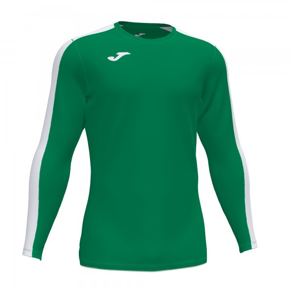 Футболка ACADEMY T-SHIRT GREEN-WHITE L/S