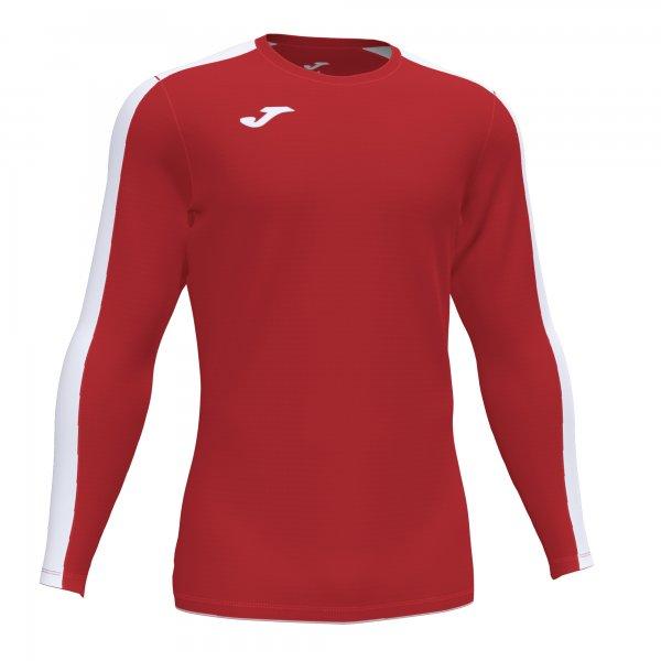 Футболка ACADEMY T-SHIRT RED-WHITE L/S