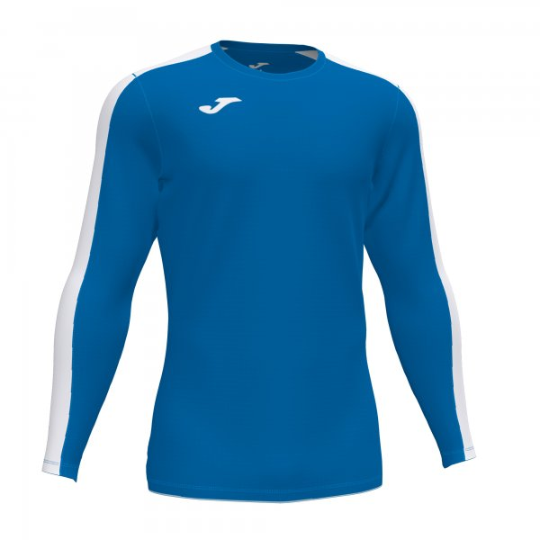 Футболка ACADEMY T-SHIRT ROYAL-WHITE L/S