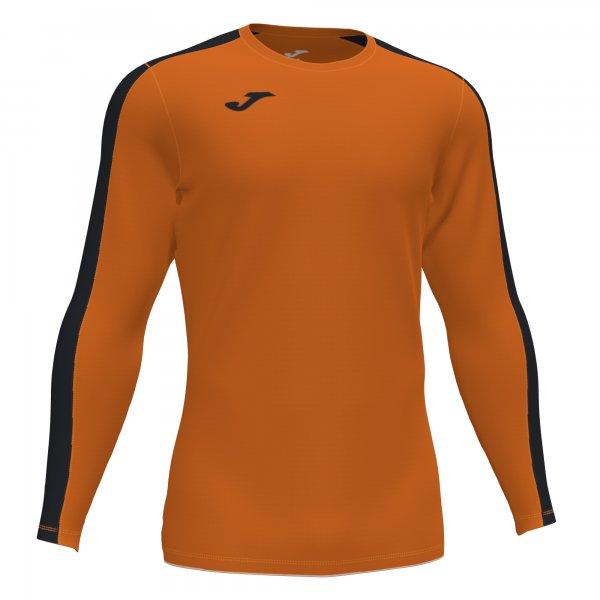 Футболка ACADEMY T-SHIRT ORANGE-BLACK L/S