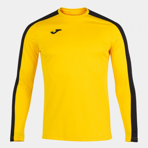 Футболка ACADEMY T-SHIRT YELLOW-BLACK L/S