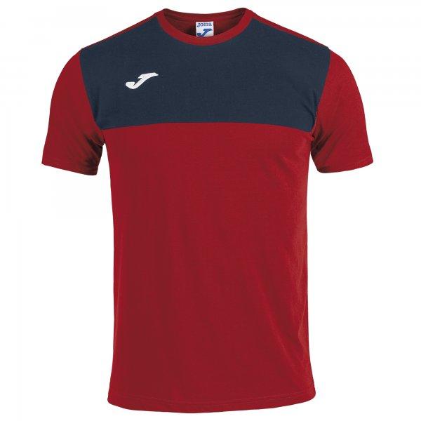 WINNTER T-SHIRT RED-DARK NAVY S/S