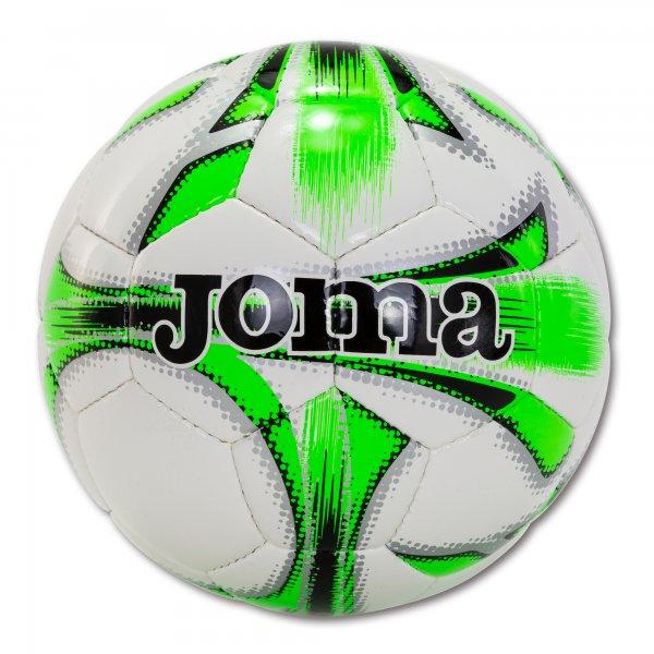 Мяч футбольный р. 5 DALI WHITE-FLUOR GREEN