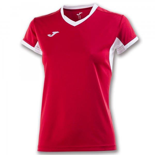 Футболка женская CHAMPIONSHIP IV RED-WHITE S/S WOMAN