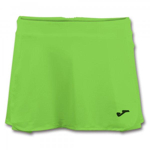Юбка теннисная OPEN II GREEN FLUOR