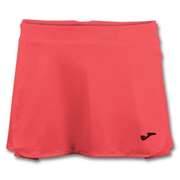 Юбка теннисная OPEN II CORAL FLUOR