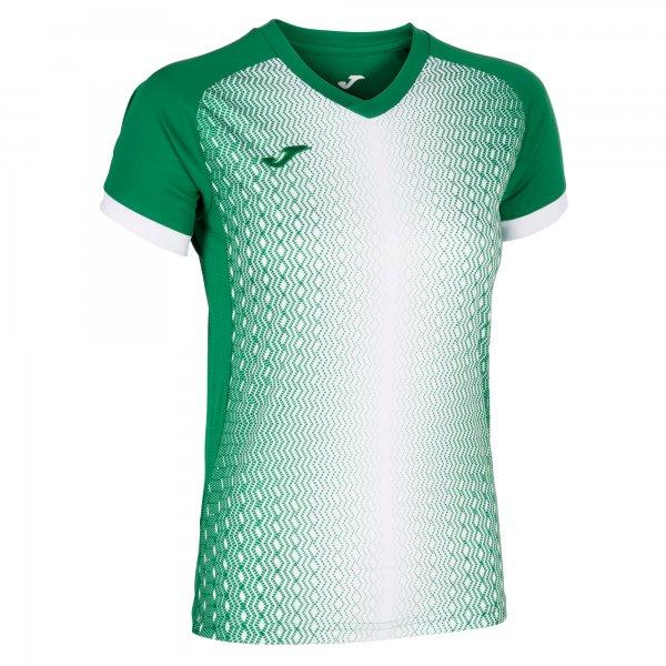 Футболка SUPERNOVA T-SHIRT GREEN-WHITE S/S
