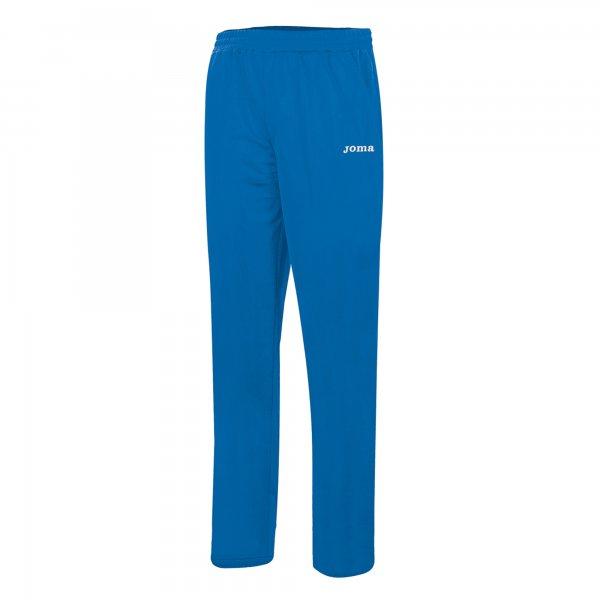 TEAM BASIC POLYFLEECE WOMEN BLUE LONG PANTS