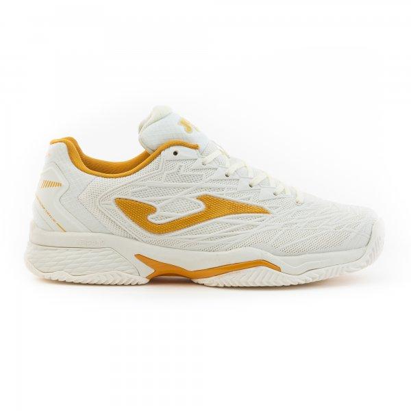 Кроссовки теннисные T.ACE PRO LADY 2002 WHITE-GOLD ALL COURT