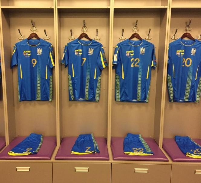 Новая футбольная форма сборной Украины по футболу Joma уже сегодня